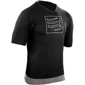 Compressport Training - Camiseta Running - negro